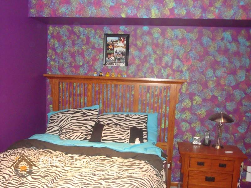 vẽ tranh tường phòng ngủ đơn giản 2