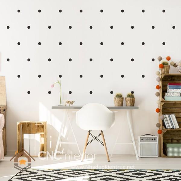 vẽ tranh tường phòng ngủ đơn giản 7