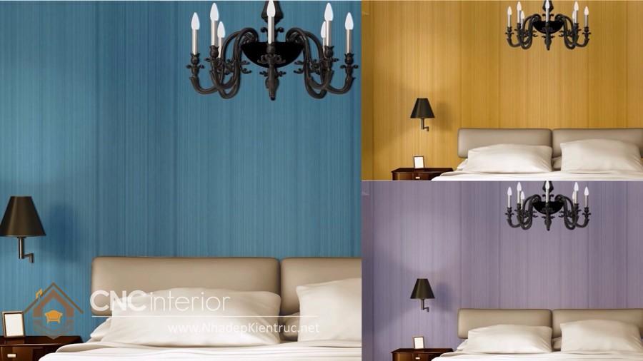 vẽ tranh tường phòng ngủ đơn giản 8