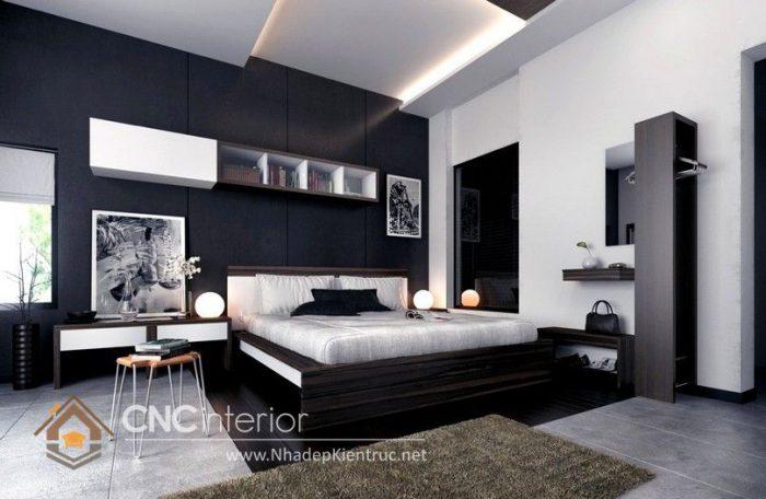 Phong cách phòng ngủ master hiện đai 05