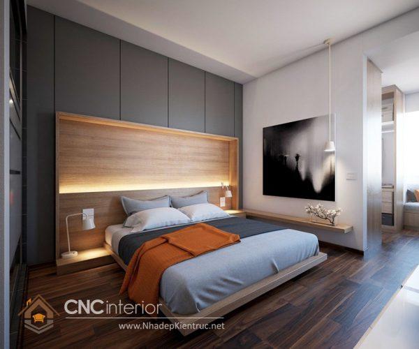 phòng ngủ master hiện đại 01