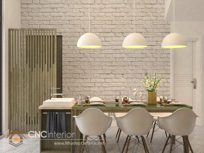 Thiết kế nội thất nhà phố đẹp hiện đại 3