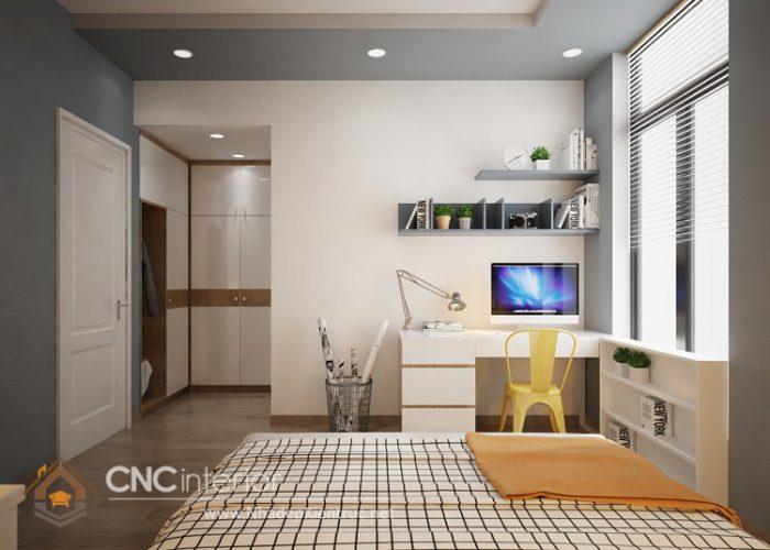 Thiết kế nội thất nhà phố đẹp hiện đại 7