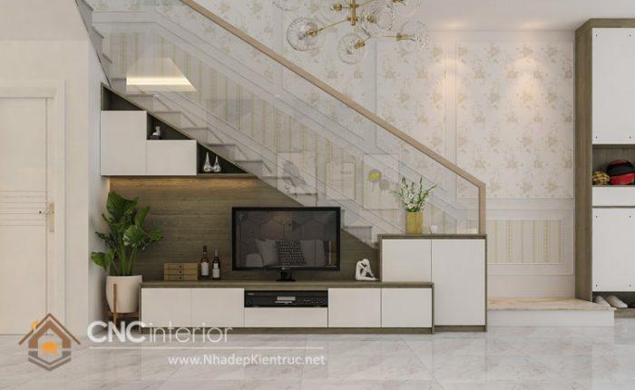 Thiết kế nội thất nhà phố đẹp hiện đại 1