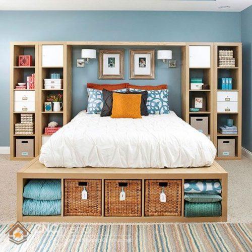 Sắp xếp phòng ngủ nhỏ 4