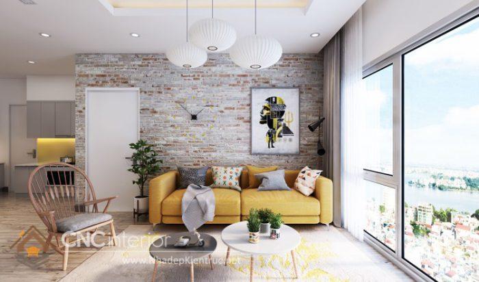 Thiết kế nội thất chung cư 3 phòng ngủ 11