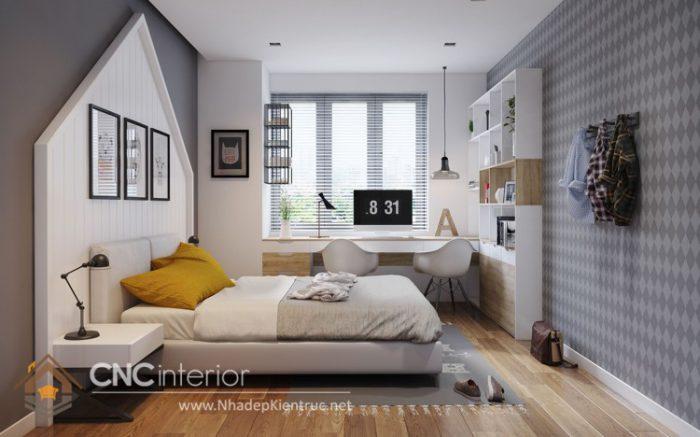 Thiết kế nội thất chung cư 3 phòng ngủ 10
