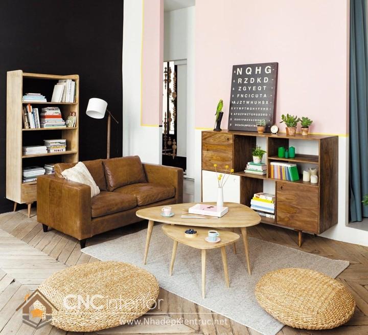 Thiết kế nội thất phòng khách nhỏ hiện đại 10