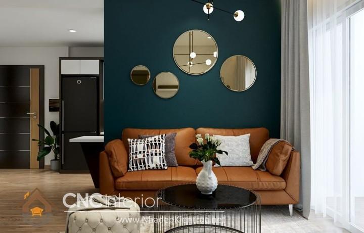 Thiết kế nội thất phòng khách nhỏ hiện đại 08