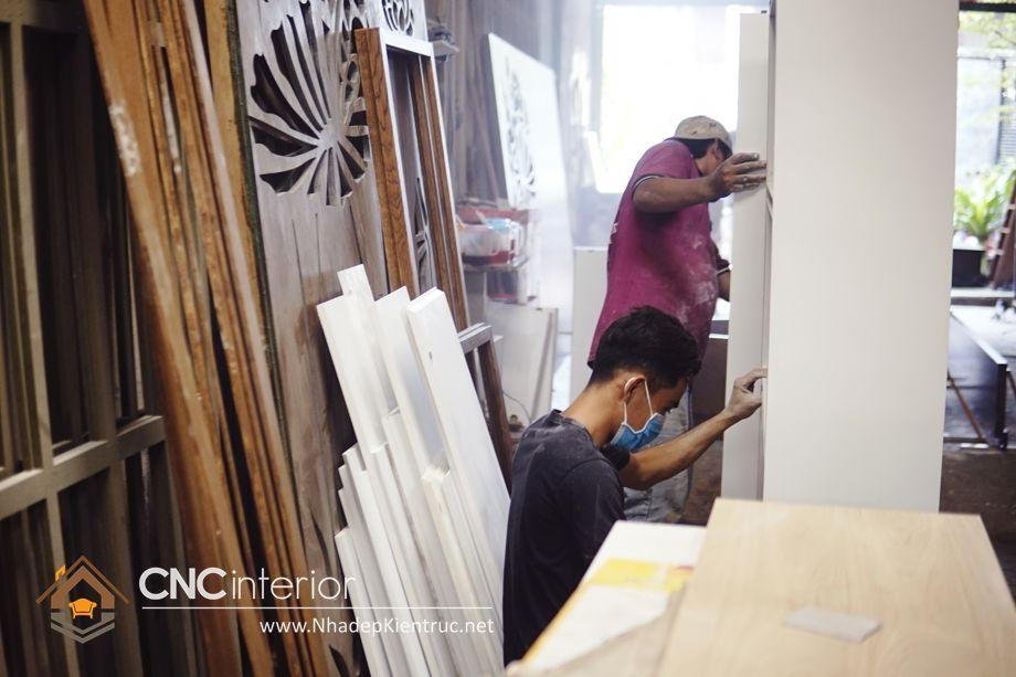 quy trình sản xuất nội thất