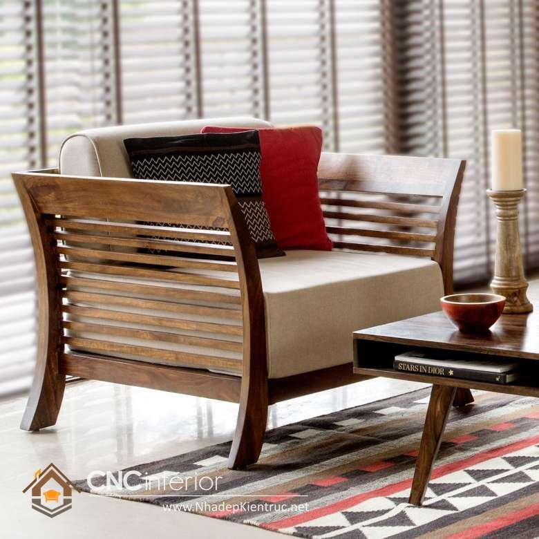 sofa phòng khách gỗ óc chó 10