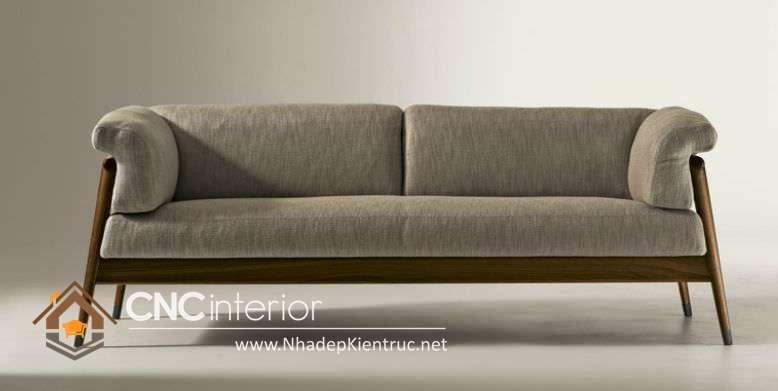 sofa phòng khách gỗ óc chó 8