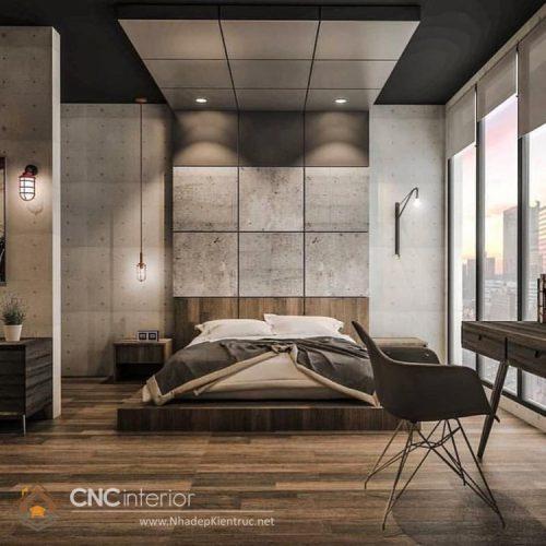 Thiết kế nội thât chung cư 3 phòng ngủ 01