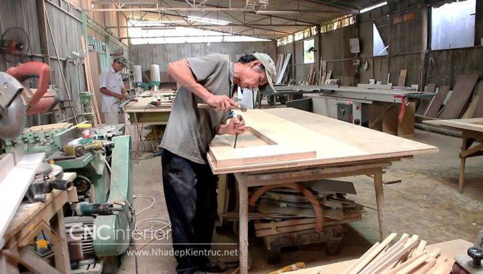 xưởng gỗ óc chó 02