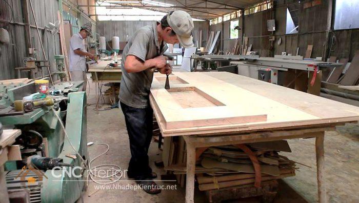 xưởng gỗ óc chó 09