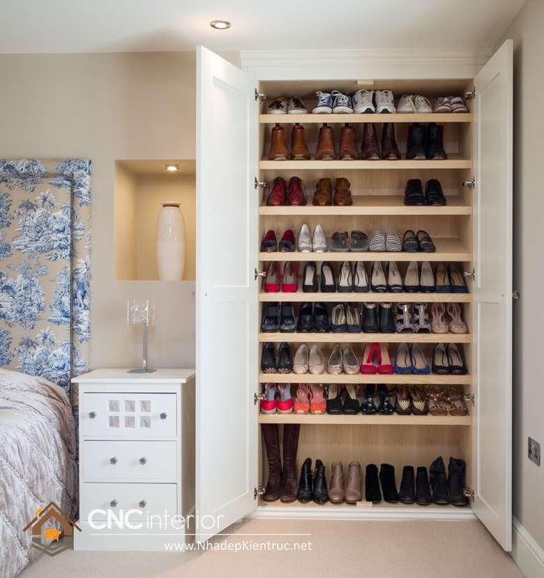mẫu tủ để giày dép đẹp 13