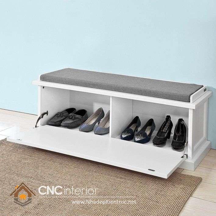 mẫu tủ để giày dép đẹp 11