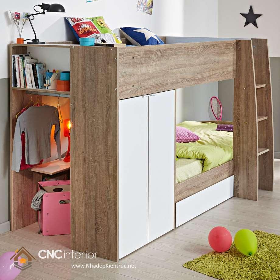 10 mẫu giường tầng hiện đại 1