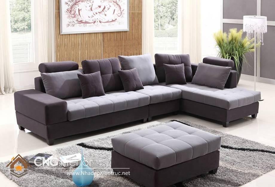 mẫu ghế sofa đơn giản hiện đại