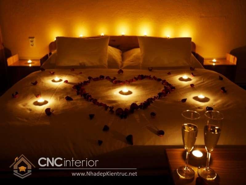Hướng dẫn cách trang trí giường cưới