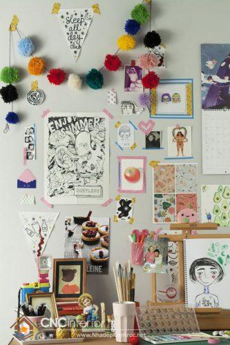 trang trí bàn học dễ thương (6)