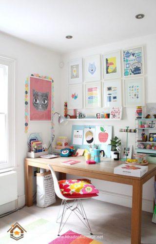 trang trí bàn học dễ thương (9)