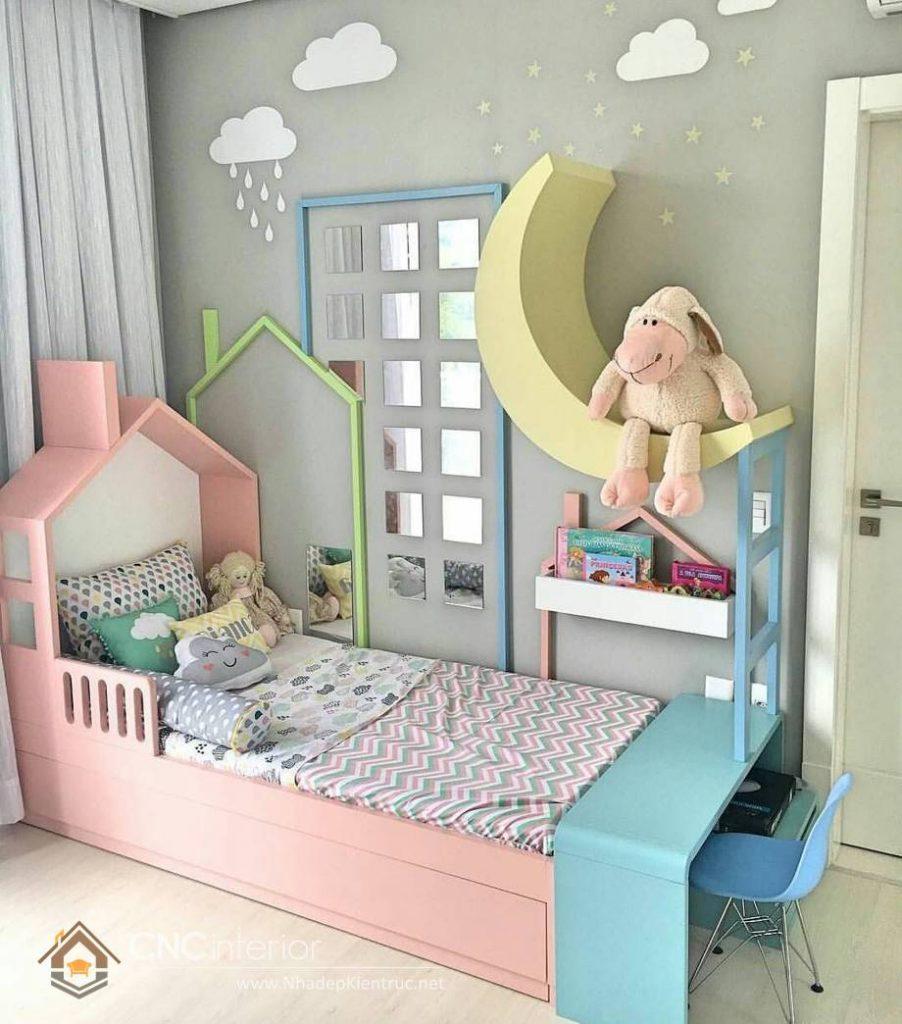 Giường ngủ đơn cho bé gái tphcm 1