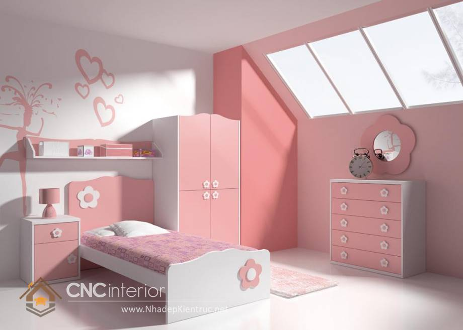 Giường ngủ đơn cho bé gái tphcm 12