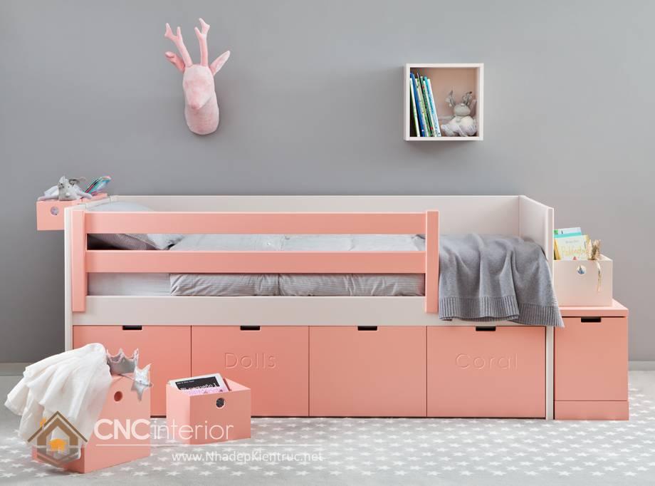 Giường ngủ đơn cho bé gái tphcm 14