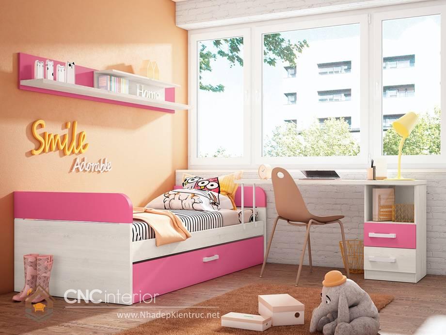 Giường ngủ đơn cho bé gái tphcm 16