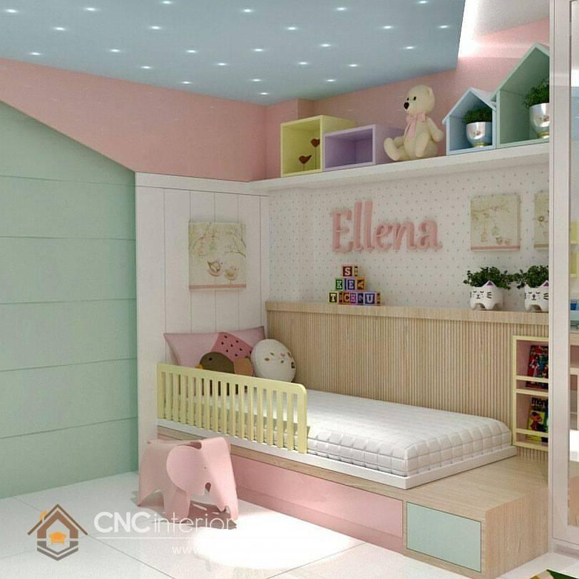 Giường ngủ đơn cho bé gái tphcm 17