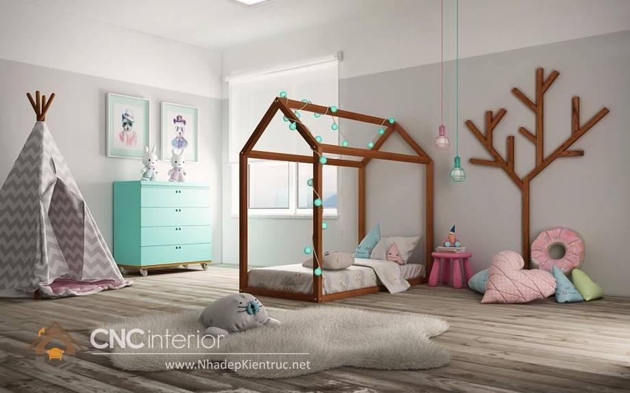 Giường ngủ đơn cho bé gái tphcm 3