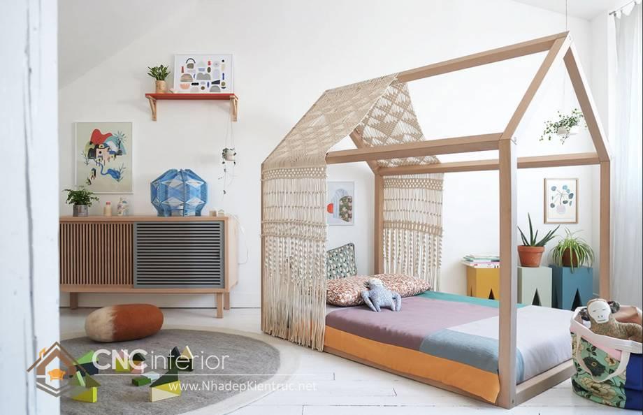 Giường ngủ đơn cho bé gái tphcm 4