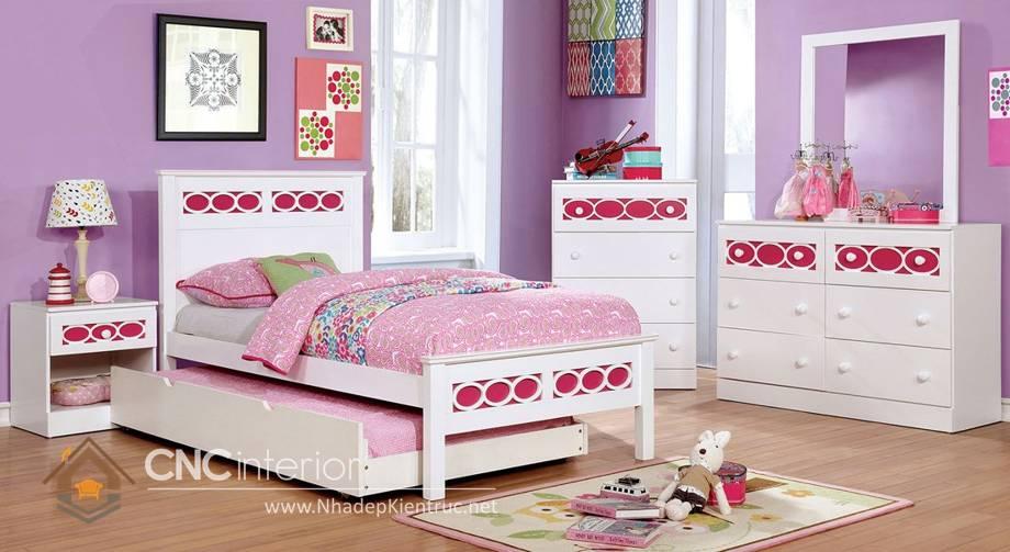 Giường ngủ đơn cho bé gái tphcm 6