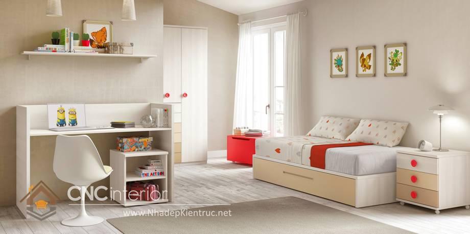 Giường ngủ đơn cho bé gái tphcm 9
