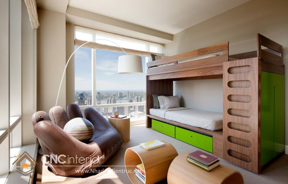 Giường tầng người lớn 1m6 - 11
