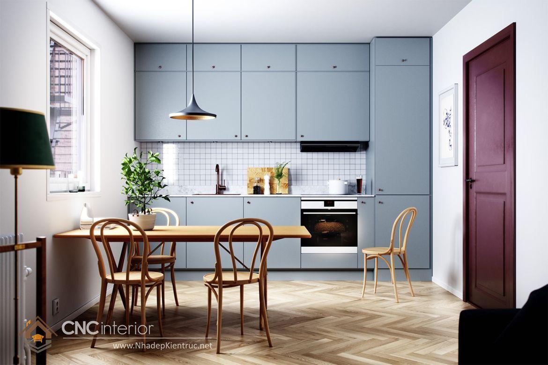 Trang trí phòng bếp đẹp đơn giản 01