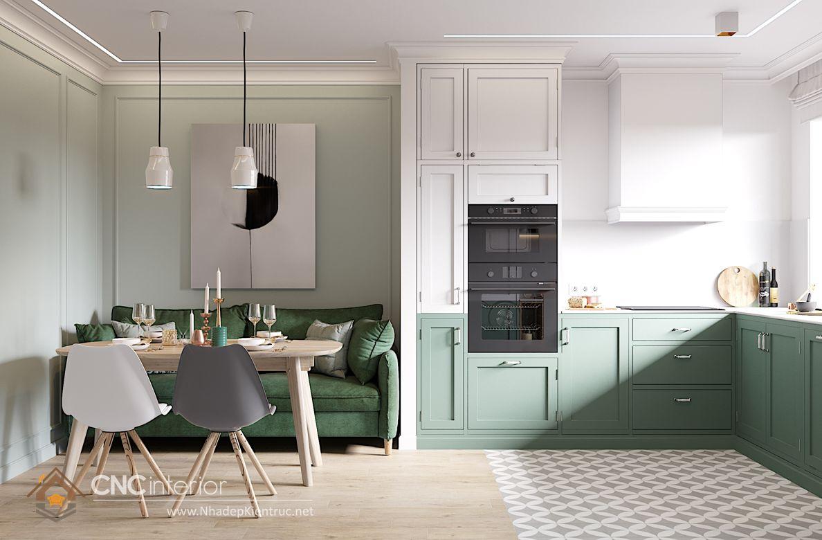 Trang trí phòng bếp đẹp đơn giản 11