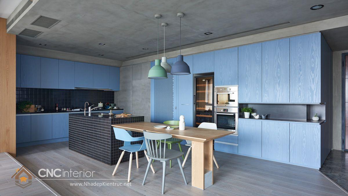 Trang trí phòng bếp đẹp đơn giản 12