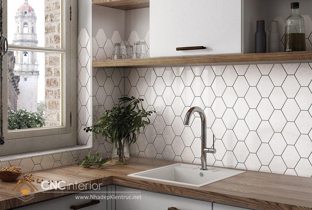 Trang trí phòng bếp đẹp đơn giản 14