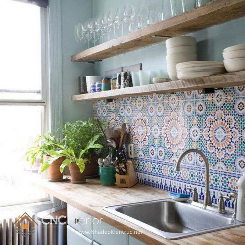 Trang trí phòng bếp đẹp đơn giản 15