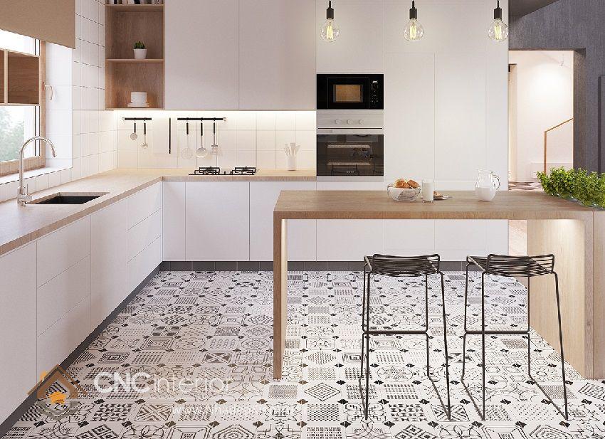 Trang trí phòng bếp đẹp đơn giản 18