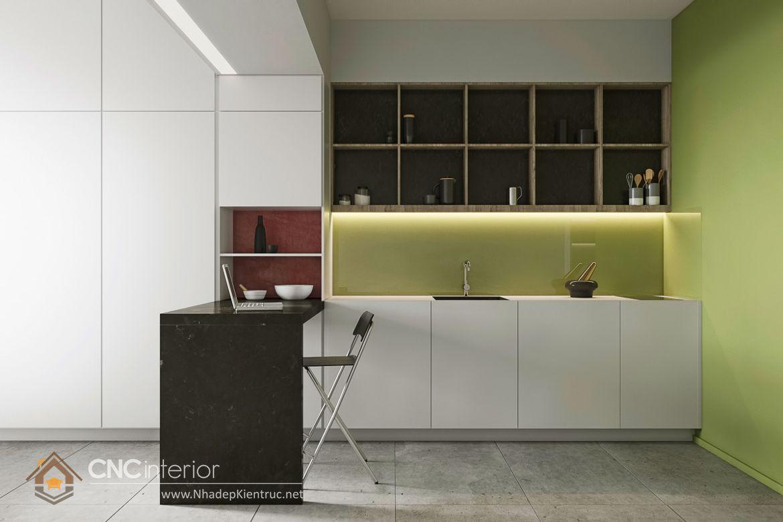 Trang trí phòng bếp đẹp đơn giản 19