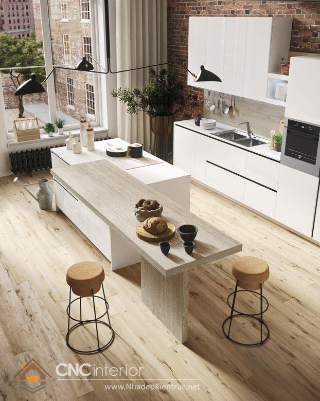 Trang trí phòng bếp đẹp đơn giản 21
