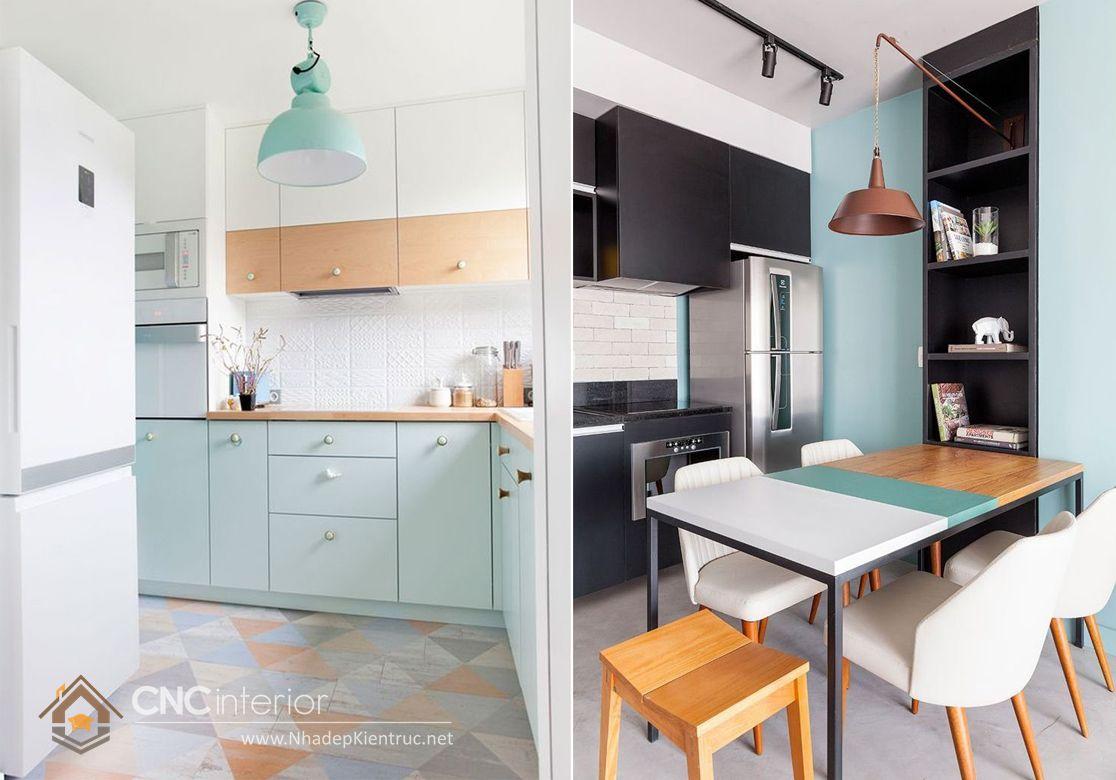 Trang trí phòng bếp đẹp đơn giản 04