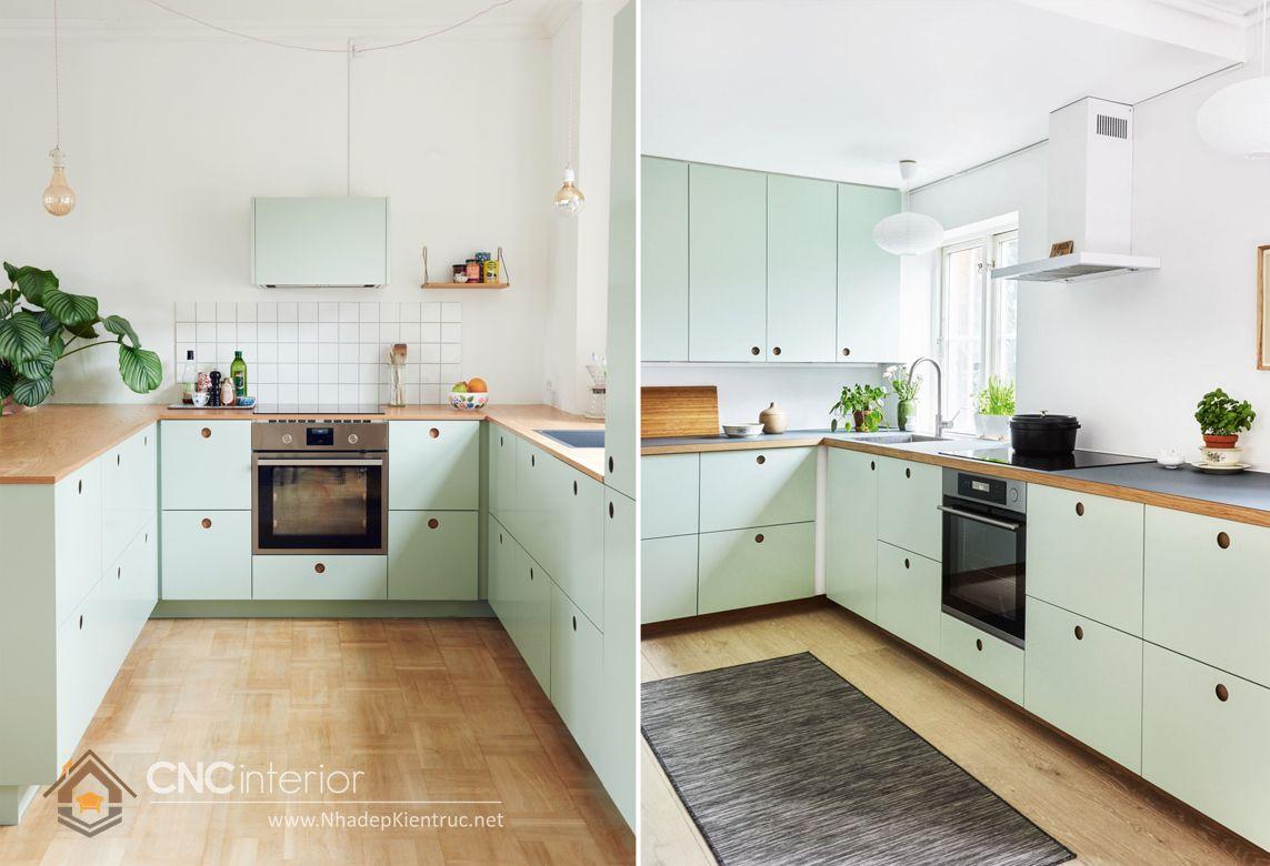 Trang trí phòng bếp đẹp đơn giản 05