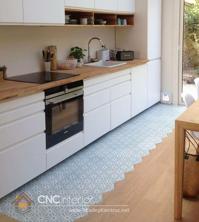 Trang trí phòng bếp đẹp đơn giản 07
