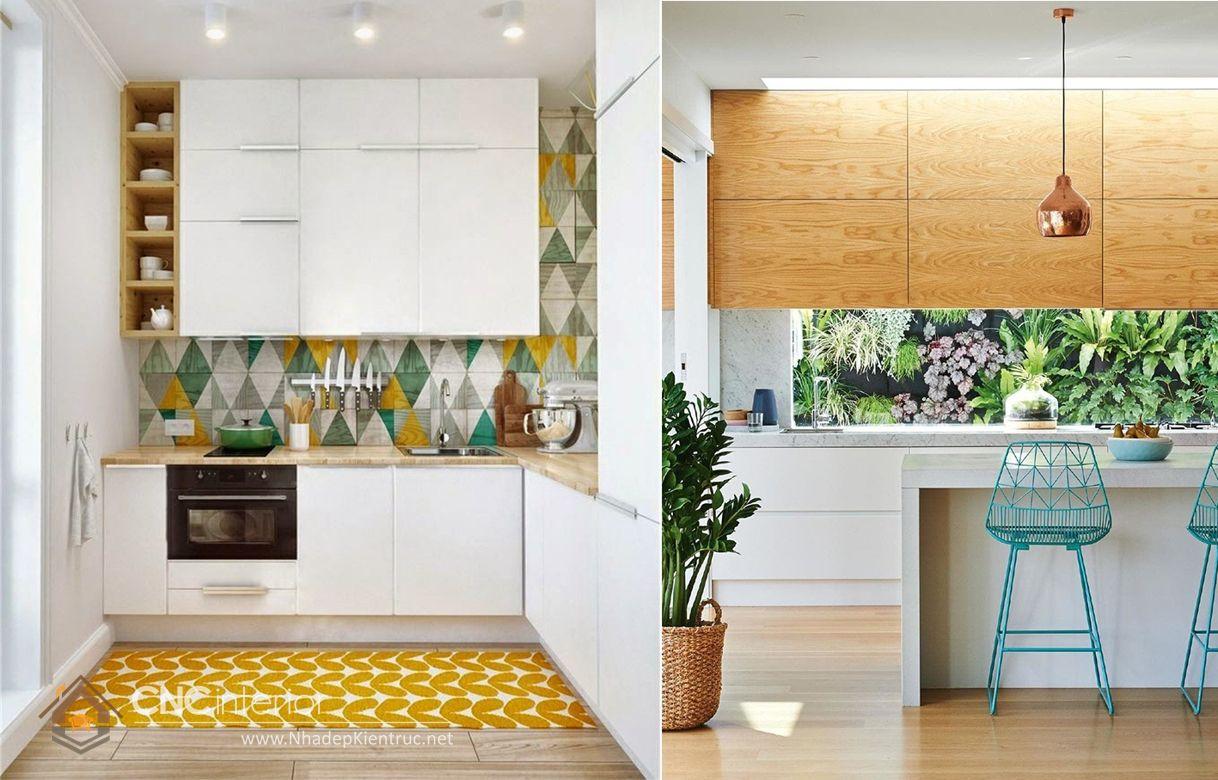 Trang trí phòng bếp đẹp đơn giản 08