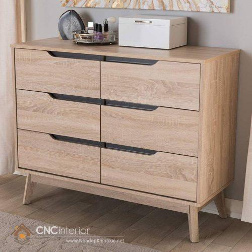 Tủ ngăn kéo gỗ công nghiệp 10