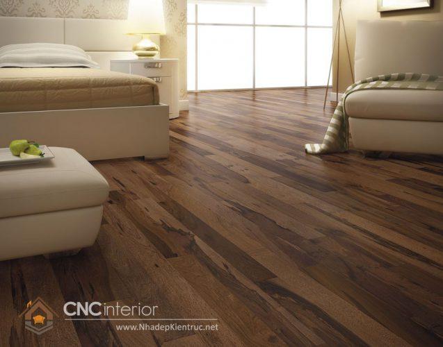 Sàn gỗ cho phòng ngủ 8
